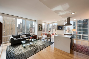 COSTAS KONDYLIS DESIGNED SUPER STAR PLATINUM CONDOMINIUM / 247 WEST 46TH STREET no. 1403 / MAGNIFICENT and  COVETED TWO BEDROOM SALE OFFERING